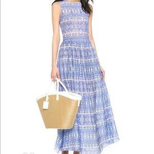Carolina K Maxi Dress With Beaded Details Size S